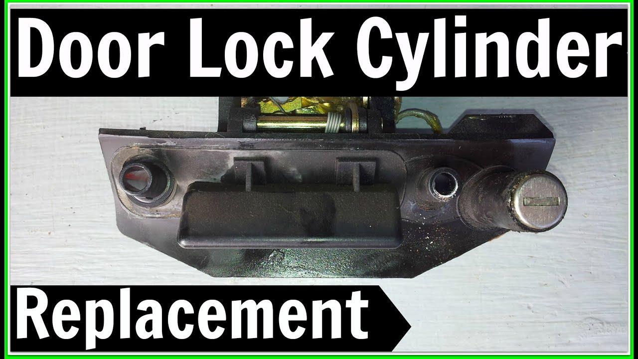 Vw T4 Transporter Door Lock Cylinder Replacement Key