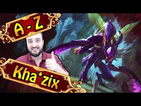 A-Z KHAZIX , Void Assassine durch Evolution | League of Legends