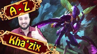 A-Z KHAZIX , Void Assassine durch Evolution | League of Legends