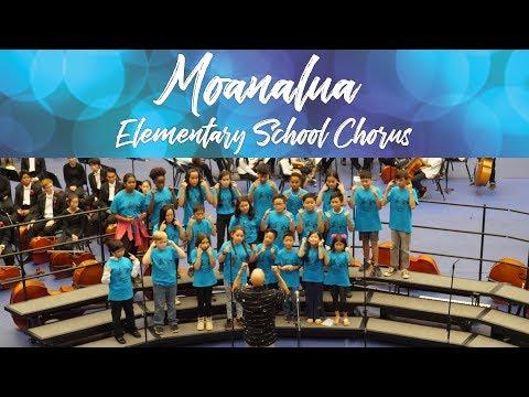Moanalua Elementary School Chorus   2018 Moanalua Complex Concert
