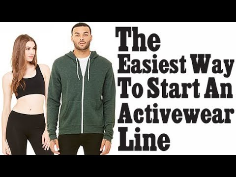 ActiveWear Clothing Line -How One In 9 Minutes