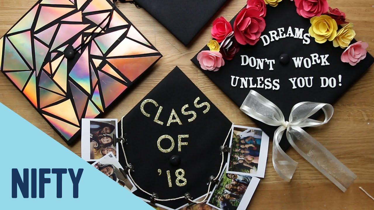 12 Fun Ways To Decorate Graduation Caps