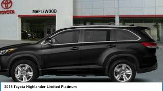 2018 Toyota Highlander Limited Platinum Maplewood, St Paul, Minneapolis, Brooklyn Park, MN J14553
