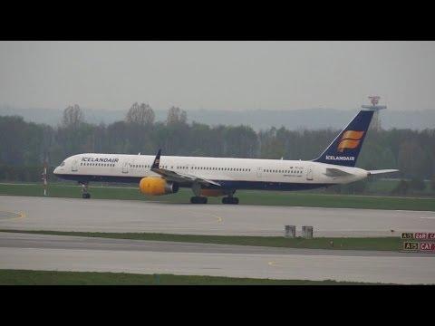Icelandair Boeing B757 Flight FI533 from Munich / München to Reykjavik TF-FIX