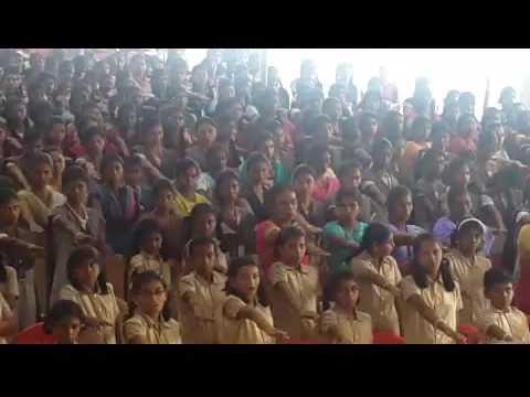 Oath Taking Ceremony Theni Nadar School