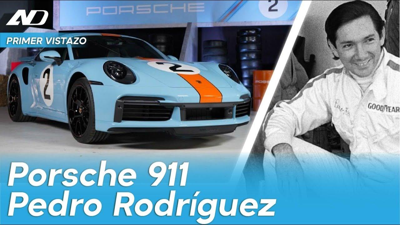 """Porsche 911 """"Pedro Rodríguez """"   Exclusiva"""