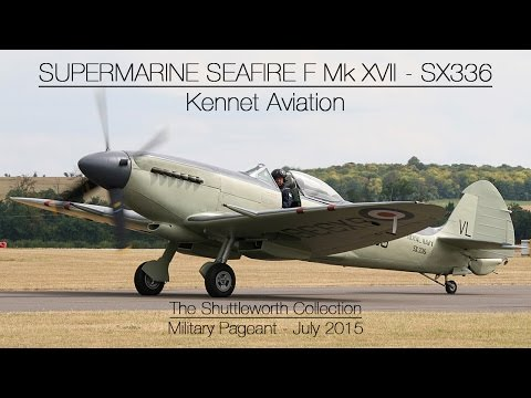 Supermarine Seafire F Mk XVII - SX336 - Old Warden July 2015