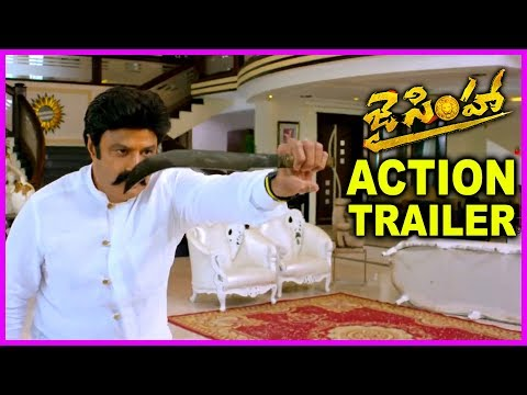 Jai Simha Movie Action Trailer - Latest...
