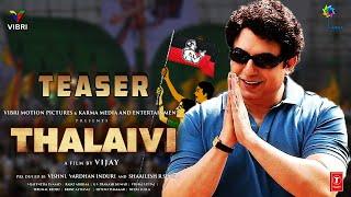 THALAIVI - Official Teaser & MGR First Look | Arvind Swamy | Kangana Ranaut | Jayalalitha Biopic