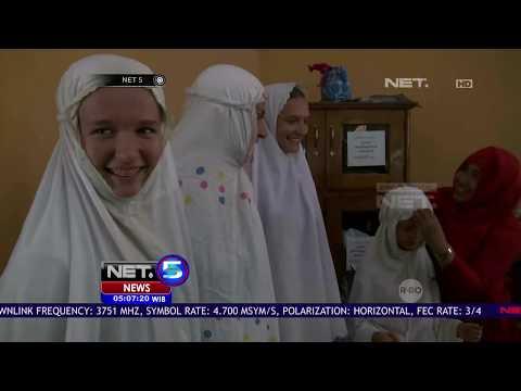 Di Malang, Warga Jerman Belajar Islam - NET 5
