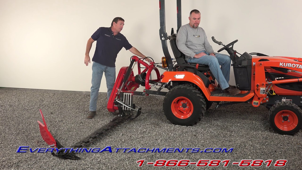 5 Foot Sickle Bar Mower For Subcompact Tractors