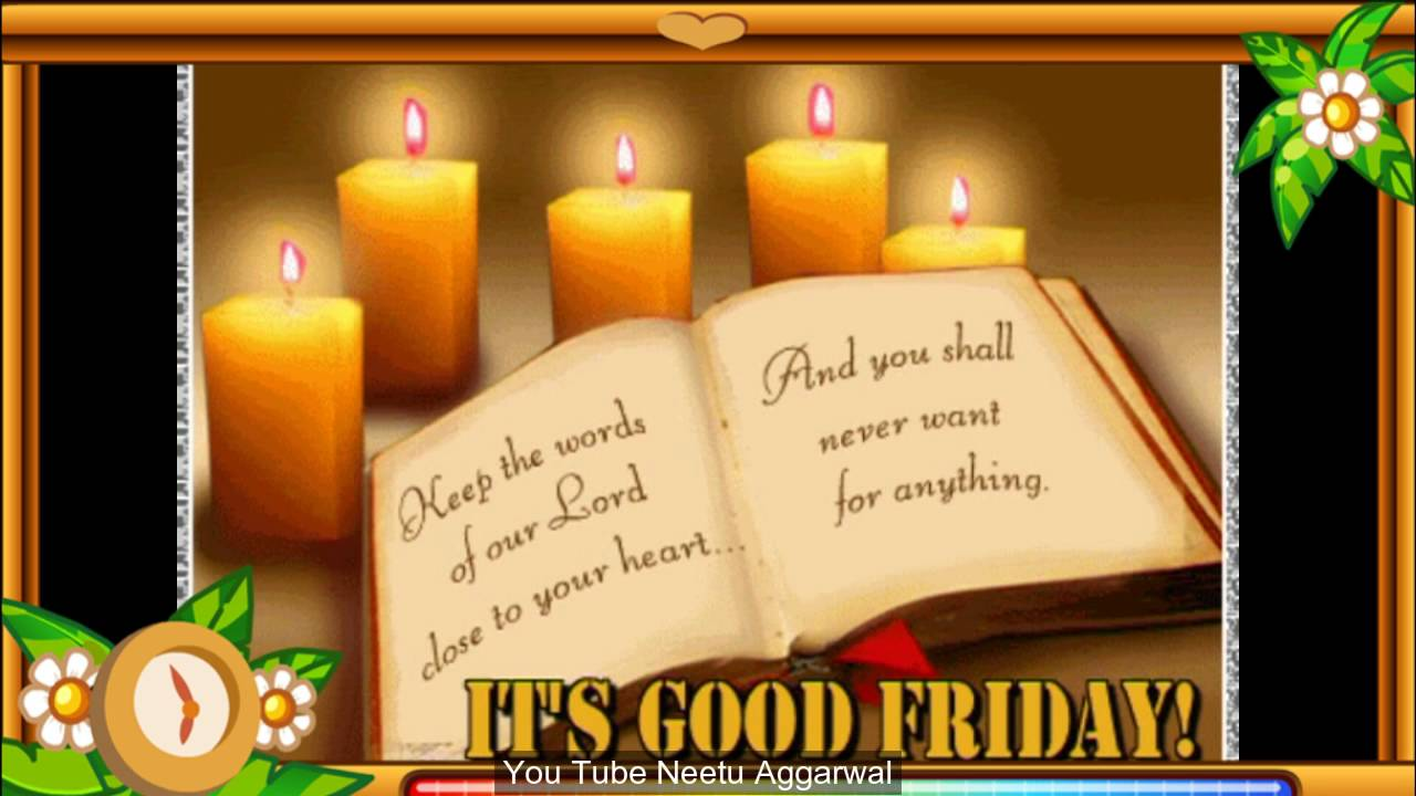 Good Friday Greetingsblessingsprayerse Cardgood Friday Whatsapp