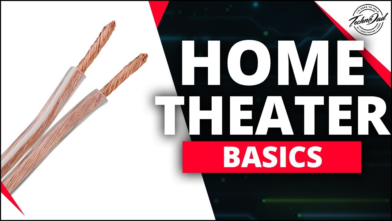 How to Choose the Right Speaker Wire? | Home Theater Basics Home Speakers Wiring on