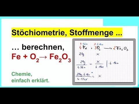 st chiometrie stoffmenge berechnen einfach erkl rt mit