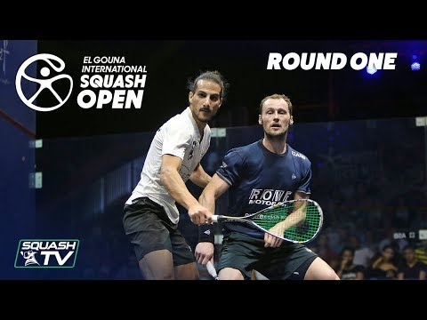 Squash: El Gouna International 2018 - Men's Rd1 Round Up [P1]