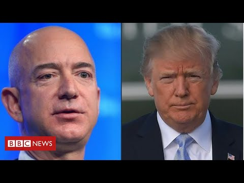 Donald Trump steps up attacks on Amazon from YouTube · Duration:  3 minutes 33 seconds