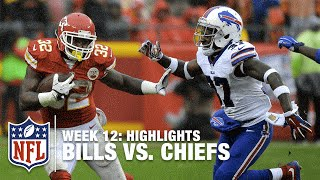 Bills vs. Chiefs | Week 12 Highlights | NFL