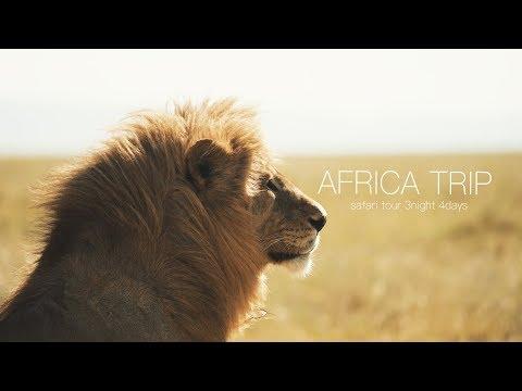 アフリカ旅  〜キャンプ・サファリツアー〜【VLOG】