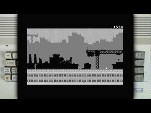 Canabalt on the Commodore 64