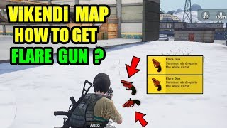 New Vikendi Map How to Get the Flare Gun in PUBG MOBILE ? Flare Gun BEST Location in Vikendi Map !