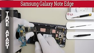 How to disassemble 📱 Samsung Galaxy Note Edge N915 Take apart Tutorial