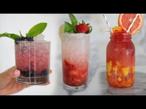 Summer Mocktail Recipes MissLizHeart