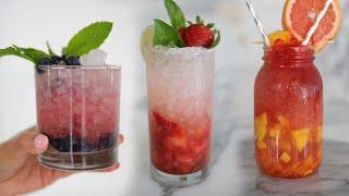 3 Easy & Refreshing Summer Drinks! MissLizHeart