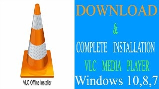 How to Download VLC Media Player Software and Installation Method Windows 10,8,7 | JM Series screenshot 2