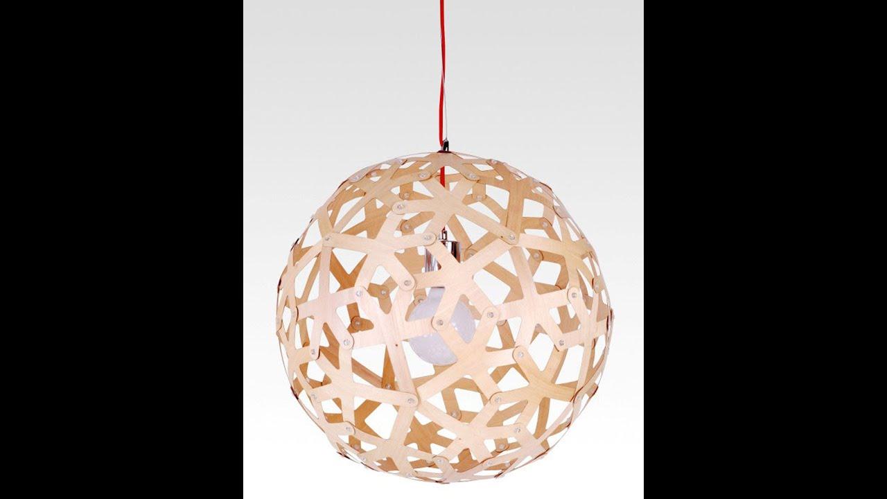 Buy wood pendant light in melbourne sphere youtube aloadofball Gallery