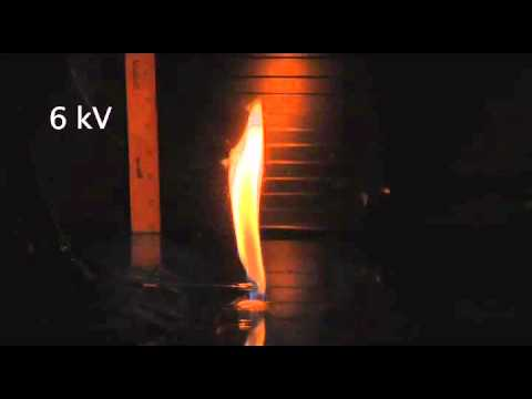 Effect of oscillating electric field on a methane/air non-premixed flame