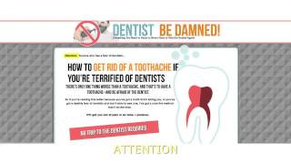 How to Get Rid of a Toothache -Alice Barnes Dentist Be Damned Program