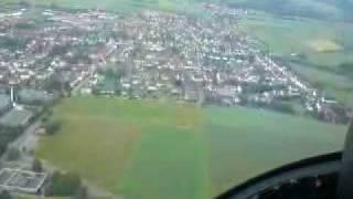 Hubschrauberflug über Heringen (Werra)