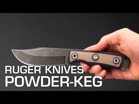 Ruger Powder-Keg RMJ Tactical Fixed Blade Overview