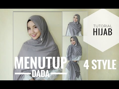 Hallo girls!! Divideo kali ini aku pake hijab berbahan voal yaa, merknya AZARA. Untuk ciput ninja nya aku pake yang biasa ajaa....