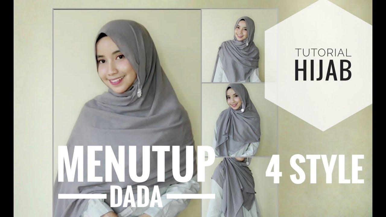 Beda Tutorial Hijab Pashmina Menutup Dada Youtube