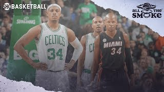 Paul Pierce Discusses Relationship With Ray Allen And Previous Beef | ALL THE SMOKE