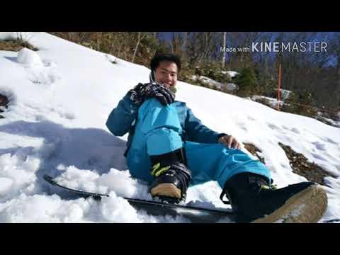 Megahira ski area, hiroshima,japan