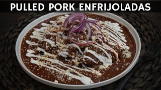 Pulled Pork Enfrijoladas | La Capital