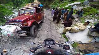 Road To Leepa Valley - Daokhan - Reshian -chakothi - Cham Waterfall Jhellum Valley Azad Kashmir