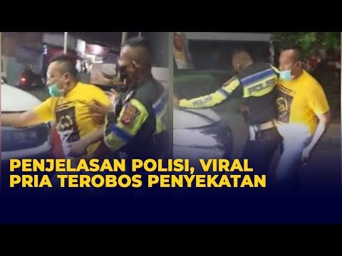 Download Penjelasan Polisi Terkait Pengendara Terobos Penyekatan PPKM Darurat di Karawang