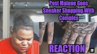Post Malone Goes Sneaker Shopping With Complex Reaction