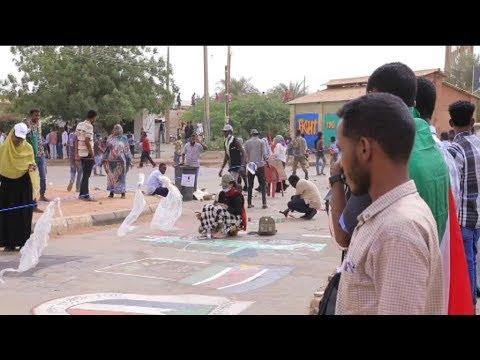 الجرافيتي فن الشباب السوداني للتعبير عن ارائهم  - نشر قبل 4 ساعة