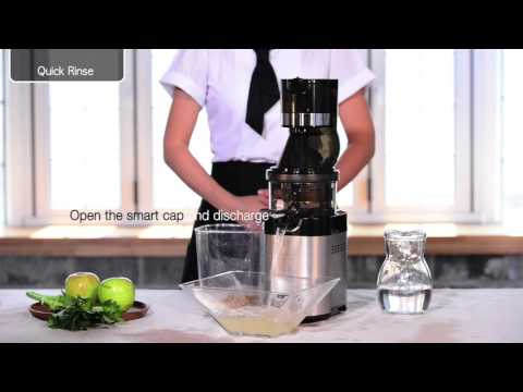 Kuvings whole slow juicer Chef CS600_How to clean.