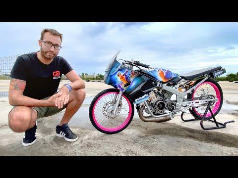 $96,000 Bet! 150cc Motorbike vs R34 GT-R in Thailand