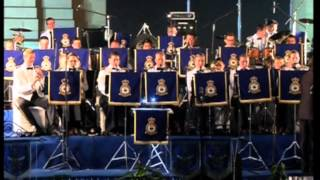 Indian, UK Air Force bands perform jointly to commemorate World War I soldiers