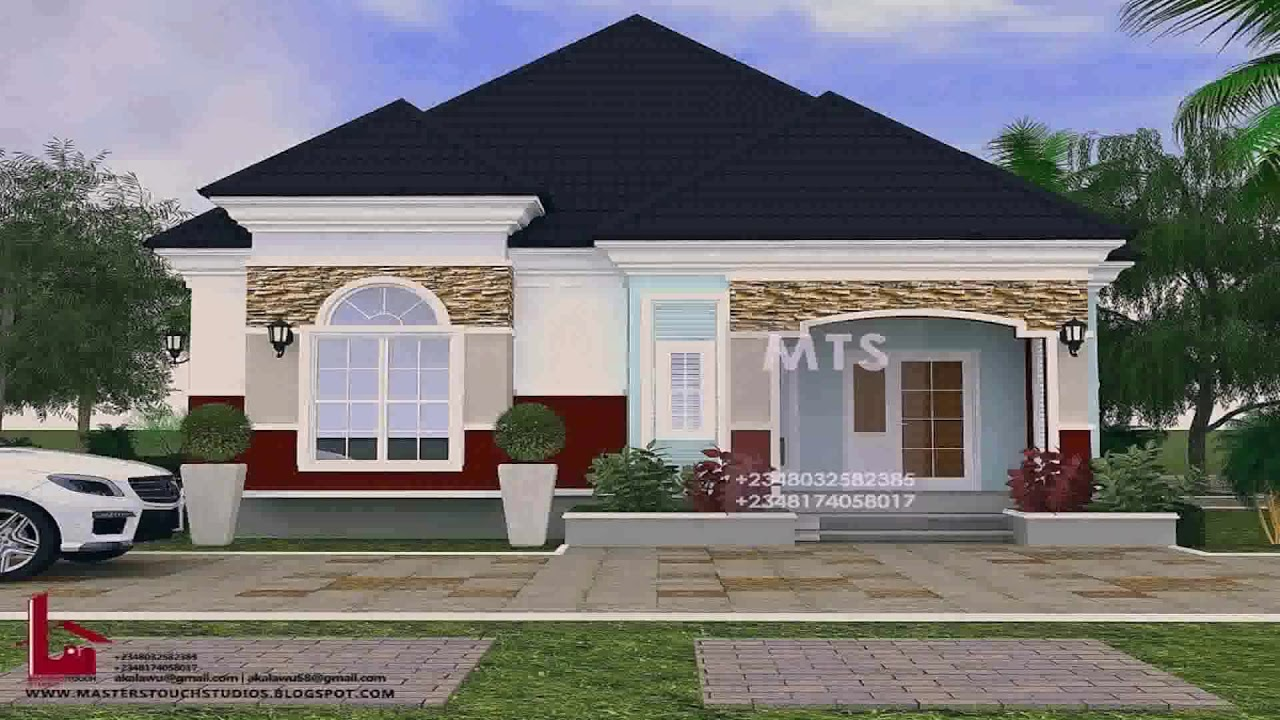Roofing Designs In Nigeria - Modern House