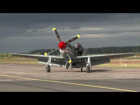 Nordic Warbirds Airshow in Skövde, Sweden.