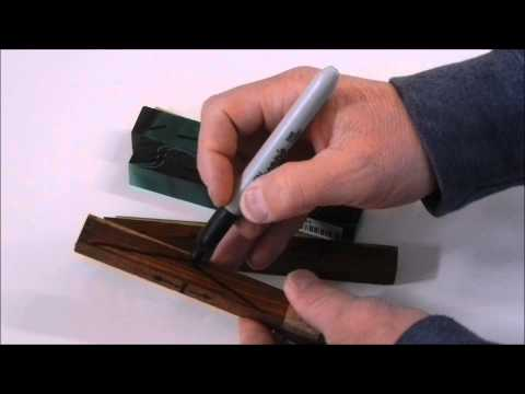 Wood Turning 101: Pen Turning: Cutting And Preparing A Pen Blank