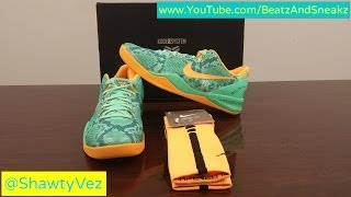 Nike Kobe 8 System Bridge Pit Review