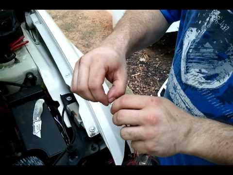 LED Strip Install DIY - YouTube